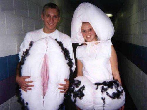 disfraz vagina