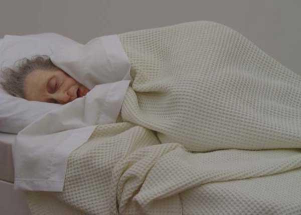 Escultura durmiendo