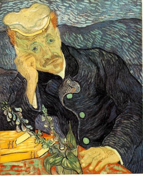 retrato del doctor gachet van gogh