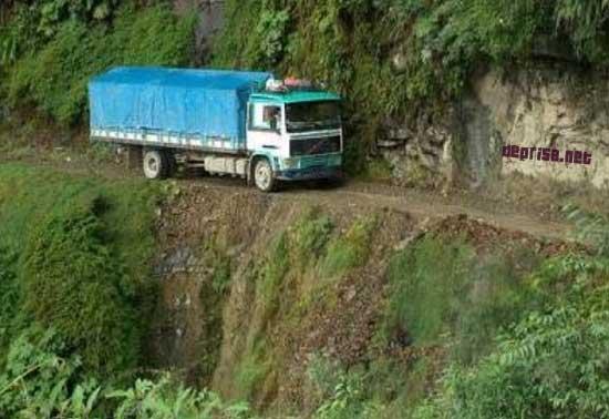 Camion loco