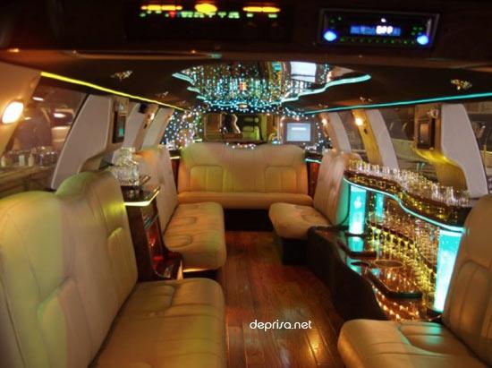 limousina por dentro