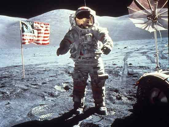 Segundo hombre en la luna