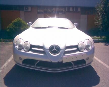 Mercedes abandonado
