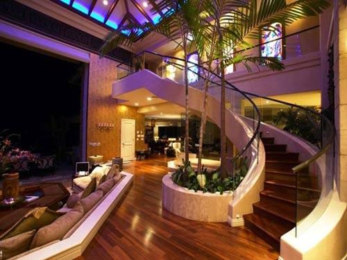 escalera casa ronaldiño