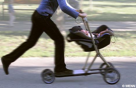 carrito bebe monopatin