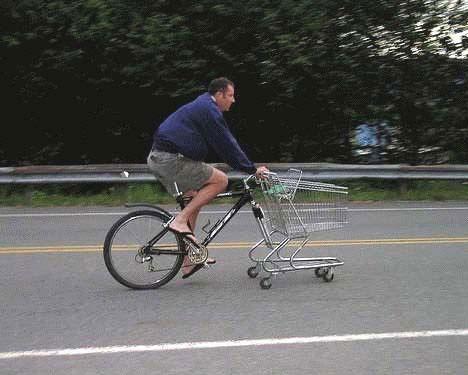 Bicicleta-Hacer-Compra